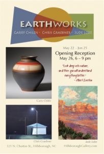 Earthworks @ Hillsborough Gallery of Arts | Hillsborough | North Carolina | United States