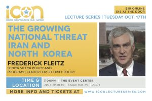ICON Lecture Series @ The Event Center | Chapel Hill | North Carolina | United States