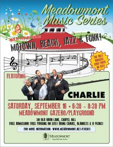 FREE Concert by CHARLIE! @ Meadowmont Gazebo | Chapel Hill | North Carolina | United States